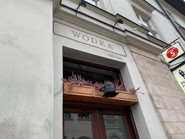 Wodka bar sign - Krakow - Oh So T