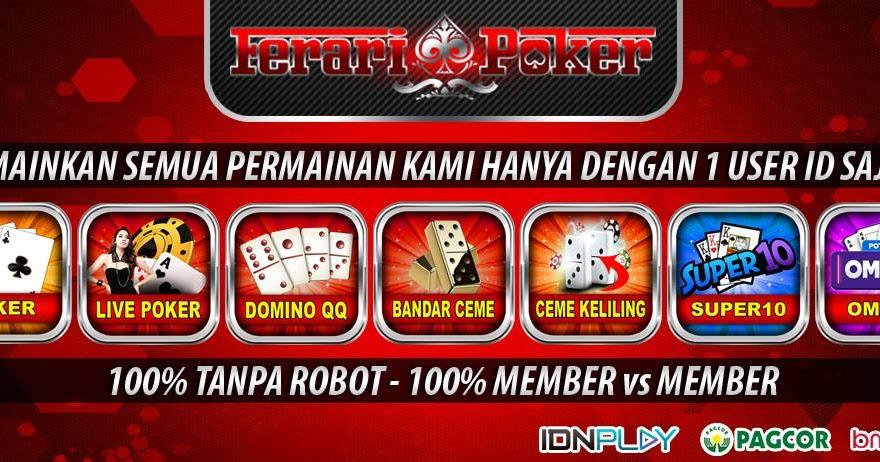 Feraripoker Situs Server Idn Terbesar Di Indonesia