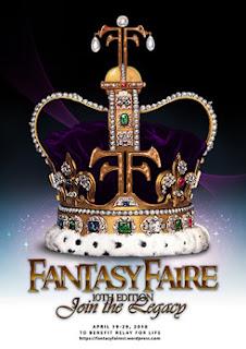 Fantasy Faire 2018 Blog