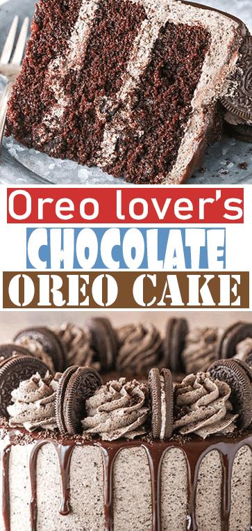 #CHOCOLATE #OREO #CAKE