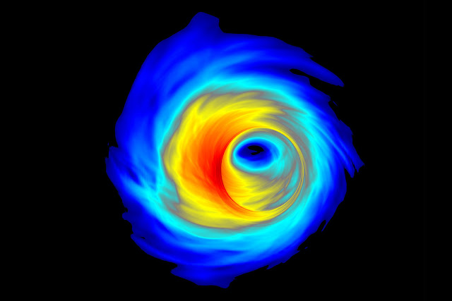 'Pac-Man-like' mergers could explain massive, spinning black holes