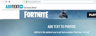 ادد تكست Addtext  يمكنك من اضافة النصوص الى الصور باشكال خطوط مختلفة ومتعددة