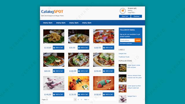 catalogspot blogger template