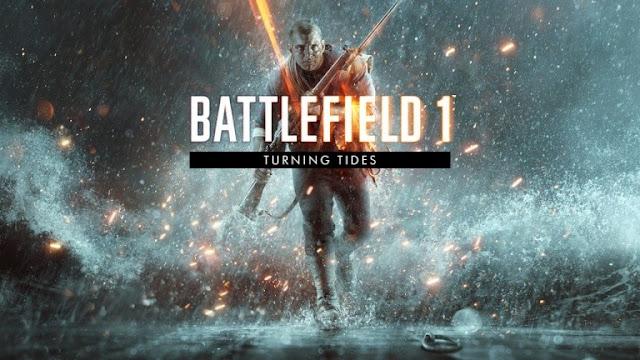 الإعلان عن موعد إصدار توسعة Turning Tides القادمة للعبة Battlefield 1