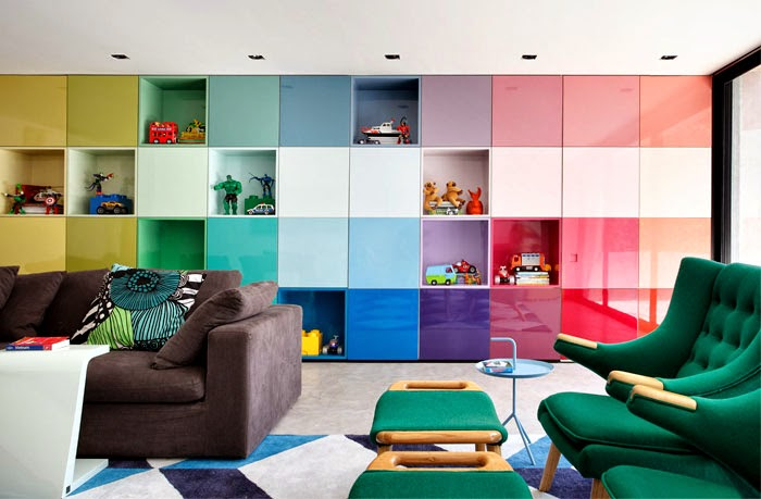 Add colour to living room