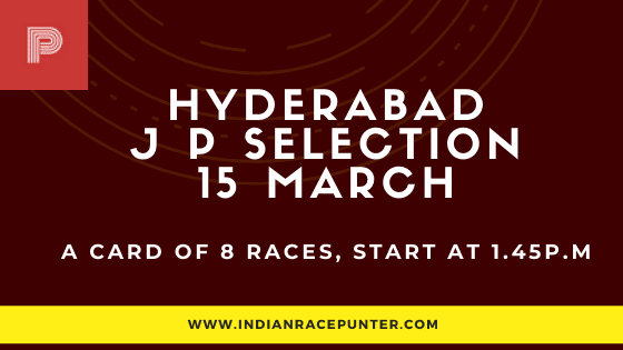Hyderabad Jackpot Selections 15 March