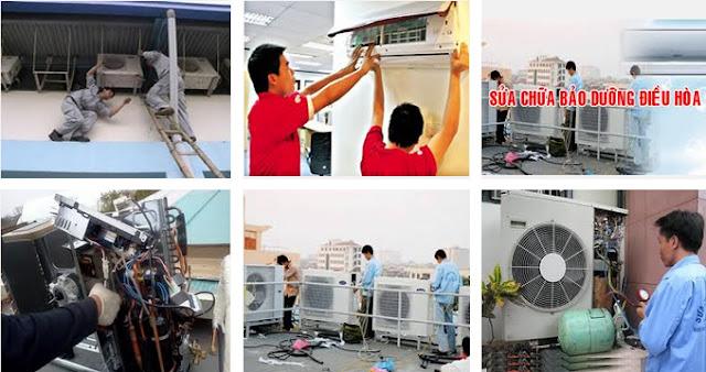 Sửa điều hòa không lên nguồn tại Hà Nội