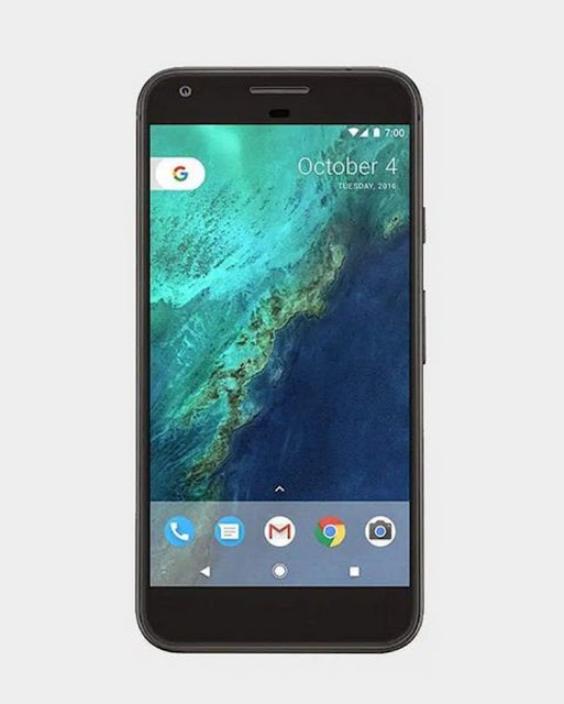 How big is the screen on a Google Pixel XL?