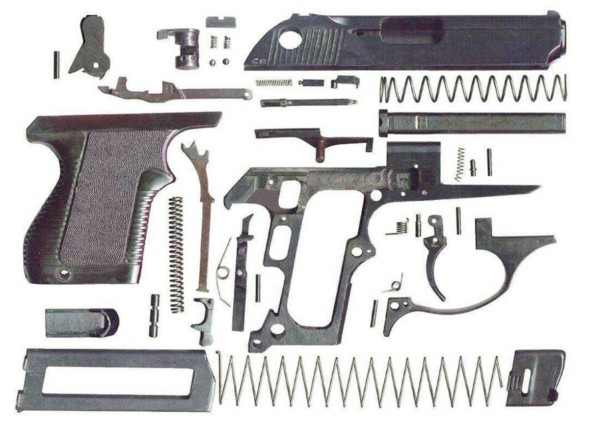 5,45-мм пістолет самозарядний малогабаритний (ПСМ) будова