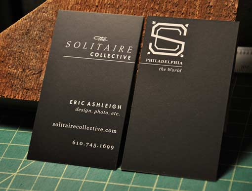 Black Business Card Designs Inspiration