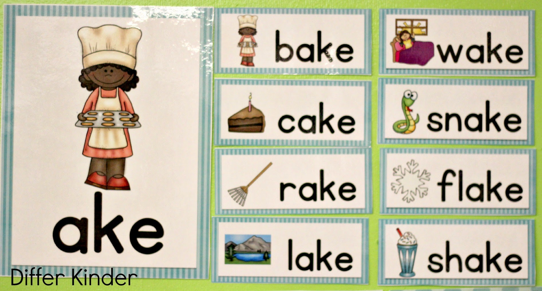 A Differentiated Kindergarten More Differentiated Word