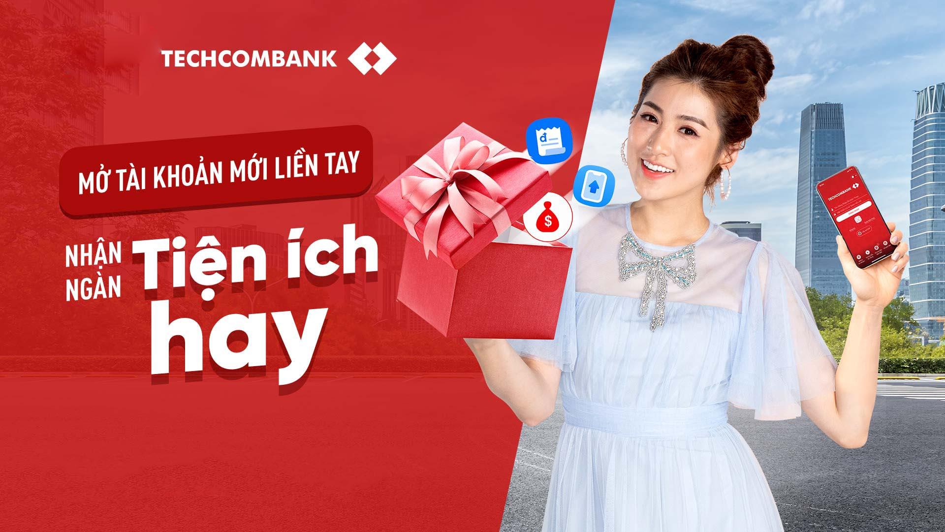 Hướng dẫn cách mở tài khoản ngân hàng Techcombank online