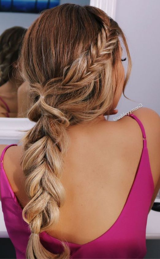 beautiful braid idea