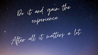 Experience matters- gyansblogs