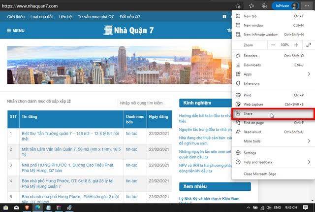 lấy nội dung từ 1 trang web đang xem vào phần mềm Net Writer 2