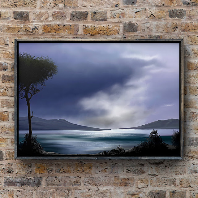last light of the day, artwork, art, Mark Taylor, beechhouse media,