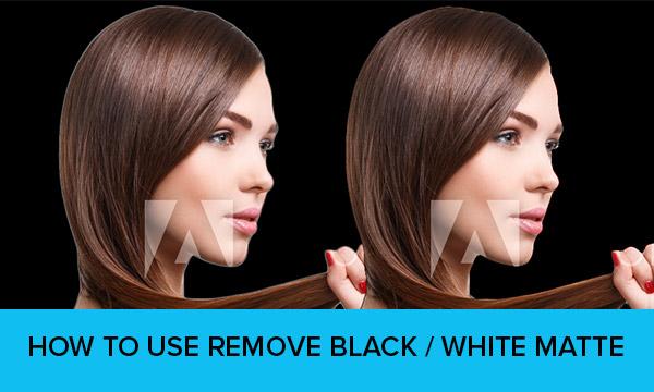 DesignEasy: How to Use Remove White/Black Matte in Photoshop