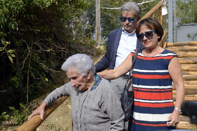 Buongiornolink - Terremoto, è arrivato il giorno dello sfratto nonna Peppina lascia la casetta in lacrime