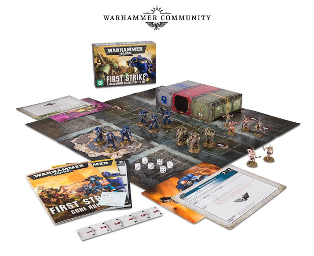 warhammer 40k starter set first strike