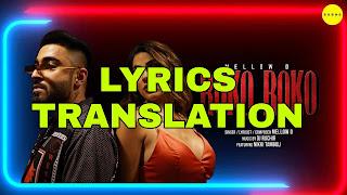 Roko Roko Lyrics in English   With Translation   – Mellow D