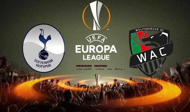 شاهد مباراة وولفسبيرج وتوتنهام بث مباشر في  الدوري الأوروبي