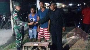 Gelar Sweeping, Personil TNI Berhasil Ringkus Pengedar Ganja di Papua - Commando