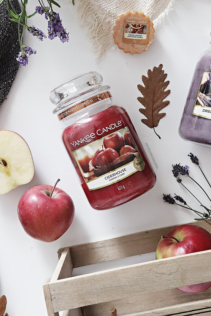 yankee candle ciderhouse nowość na jesień 2019 z kolekcji farmer's market blog recenzja