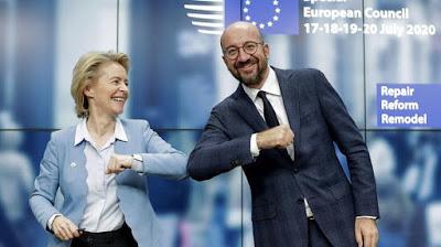 Pemimpin Eropa Mencapai Kesepakatan Coronavirus