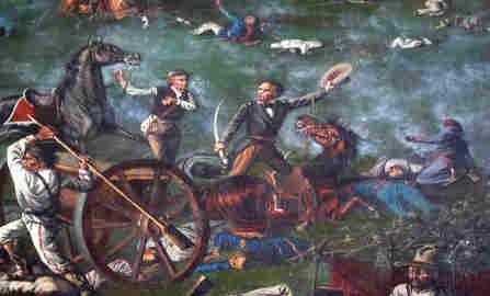 sam houston batalla de san jacinto
