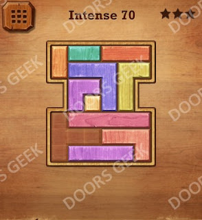Cheats, Solutions, Walkthrough for Wood Block Puzzle Intense Level 70