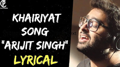 Arijit Singh: Khairiyat Sad Song Lyrics