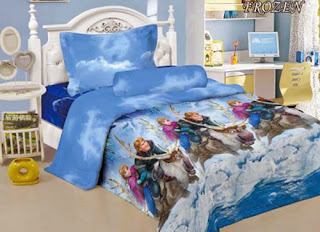 Sprei Kintakun Luxury Kids Frozen