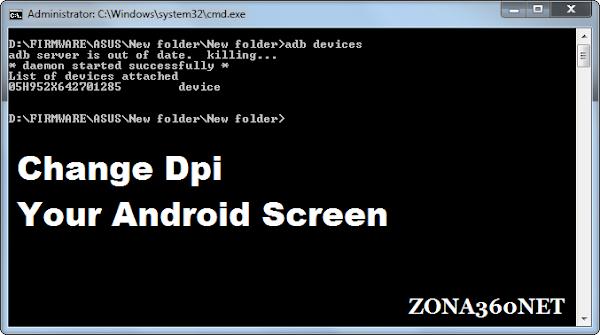 Cara Ubah Resolusi Layar Android via ADB Tanpa Root.