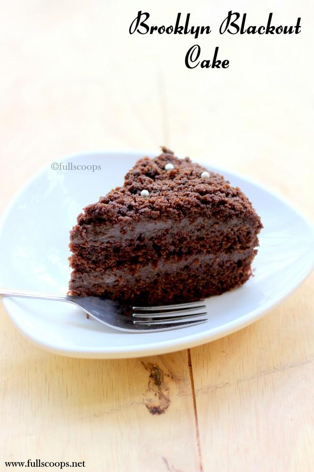 Easy Blackout Cake Recipe