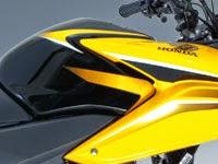 Honda CBF125: alerones