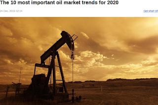 2020년 국제 유가 전망 : 10 가지 국제유가 변동 요인