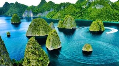 Wisata Pulau Di Raja Ampat Papua