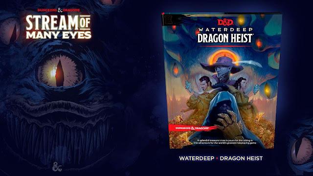 Lançamento Waterdeep: Dragon Heist