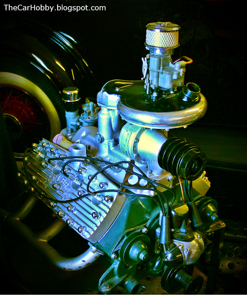 Cool Engines - McCulloch Supercharged Ford Flathead V8 | The