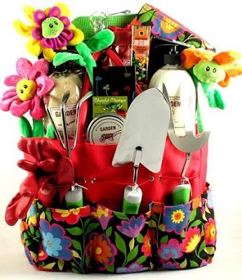 Eat live grow paleo gift basket ideas for Gardening tools gift basket