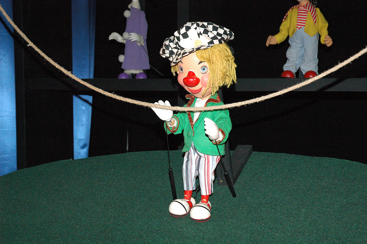 Marionettes at Tibidabo Amusement Park
