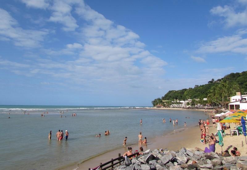 Praia de Pipa: centro
