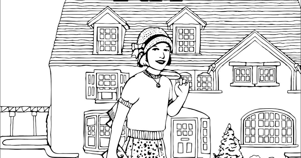 My Cup Overflows: Meet Kit: An American Girl