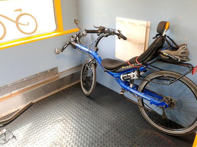 De Paris à Narbonne en vélo, Sncf Intercités
