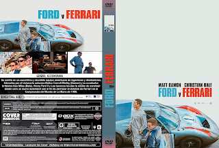 FORD V FERRARI 2019[COVER DVD+BLU-RAY]