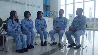 Informasi Lowongan Kerja MM2100 PT JFE Steel Galvanizing Indonesia Cikarang
