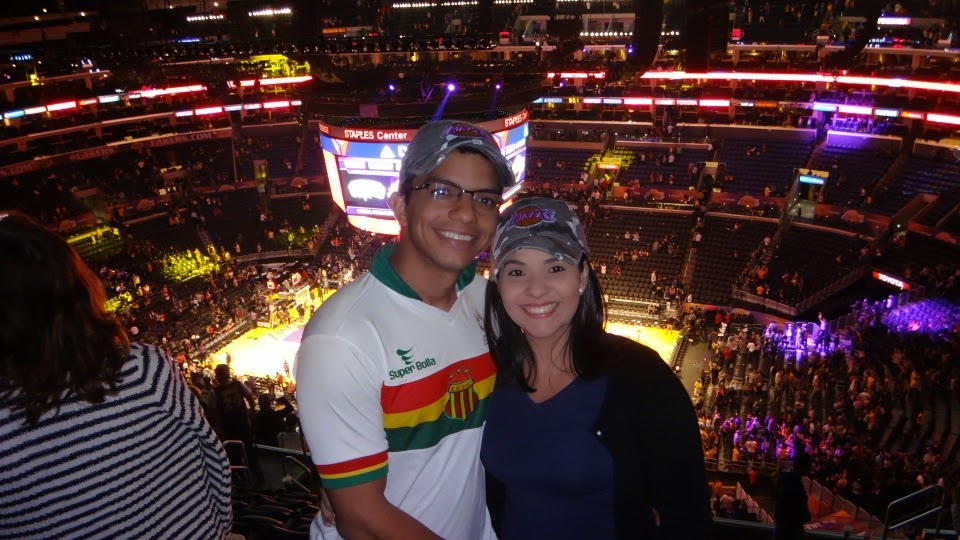 lakers - staples center - los angeles