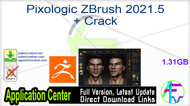 Pixologic ZBrush 2021.5 + Crack