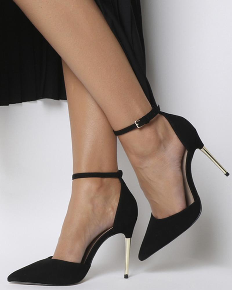 Black Heels cantik ke kampus