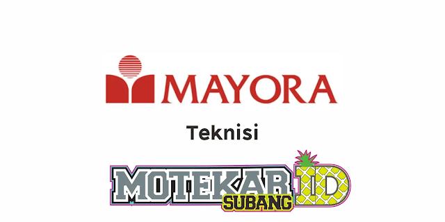 Lowongan Kerja PT Mayora Indah Tbk Tangerang Maret 2021 - Motekar Subang